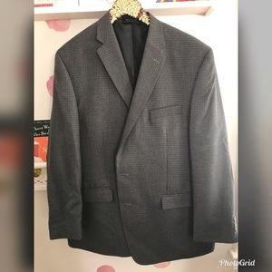 Chaps men's sports coat with elbow patch detail